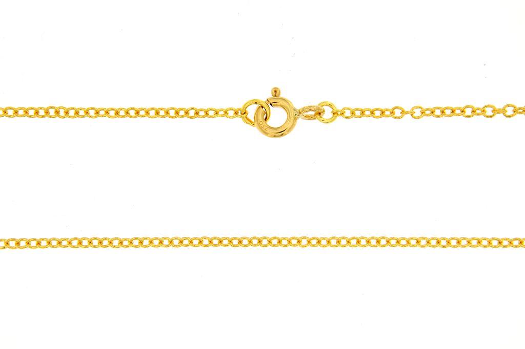 comprare popolare f530b a4e1e Catenina oro maglia rolò